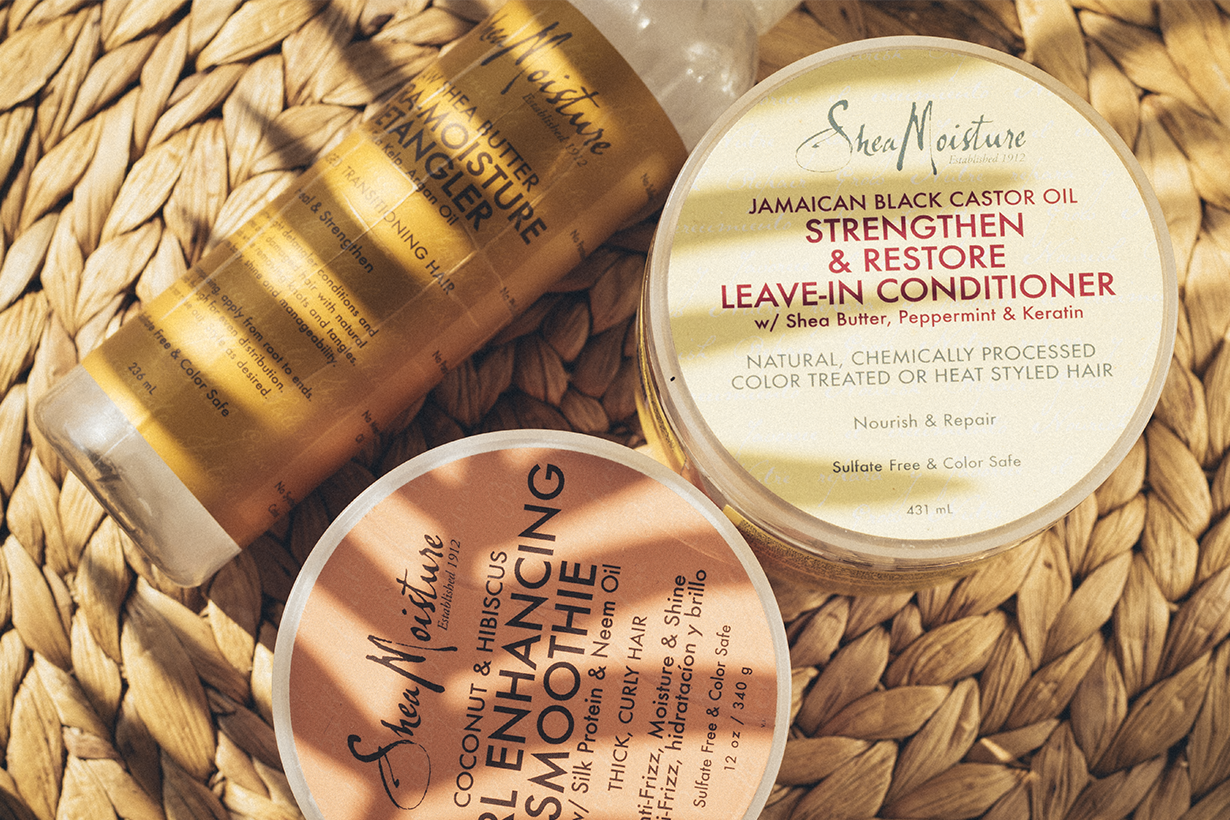Shea Moisture къдрава коса продукти