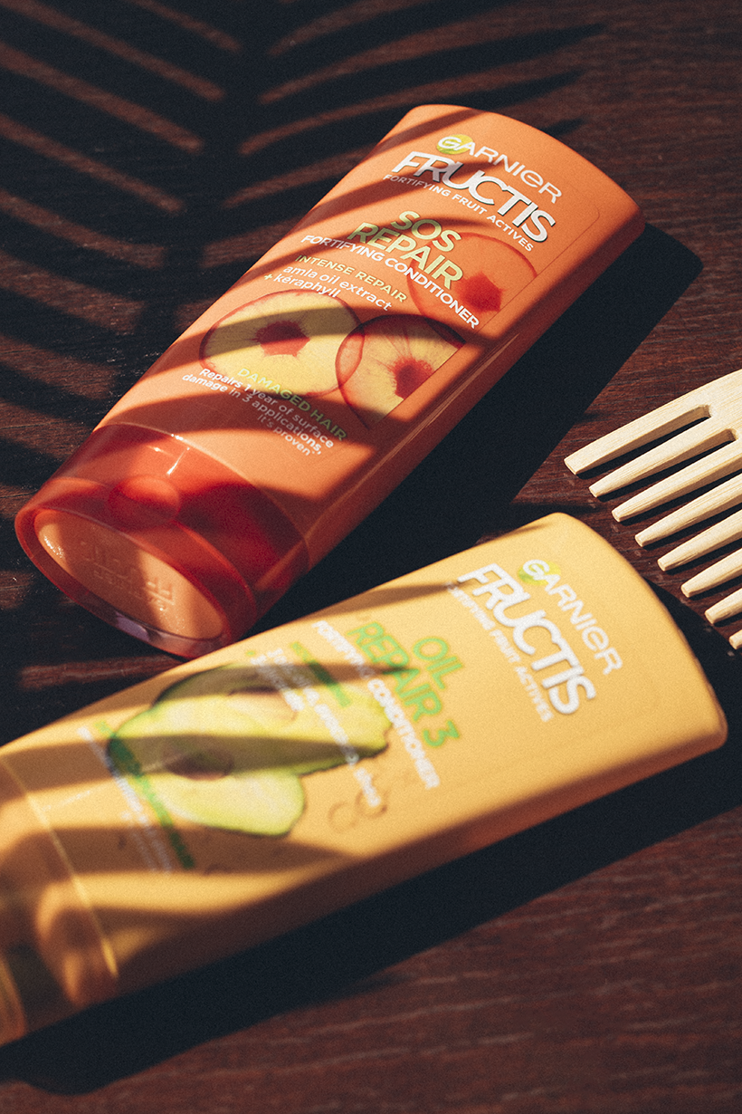 Garnier Fructis къдрава коса